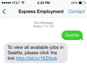 text staffing, text link, text url